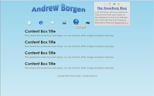 The New DrewBorg.com